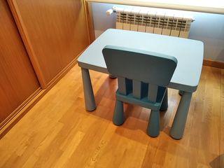 mesa silla y taburete para niños ikea