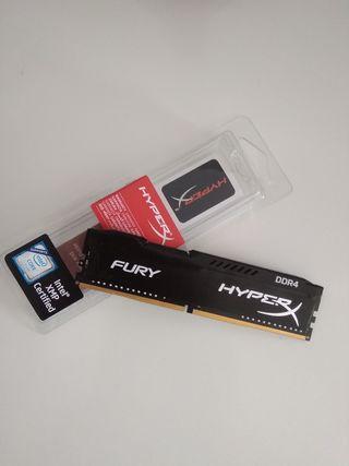 HyperX Fury DDR4 8GB 3200Mhz CL18