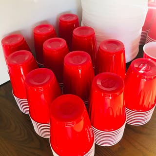 240 American Style Cups 131 Styrofoam party plates
