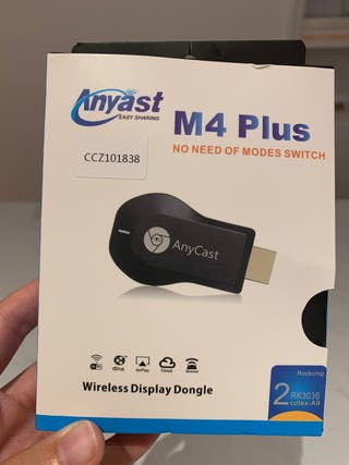 M4 Plus Dongle WiFi ANYCAST HDMI