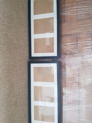 4 marcos de fotos ikea. precio original 42