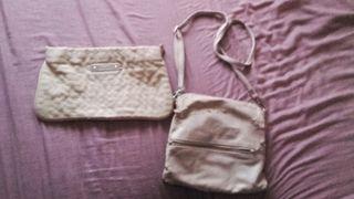 Regalo dos bolsos color crema