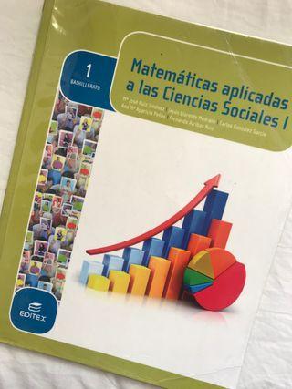 Libro Matemáticas Aplicadas a las CCSS