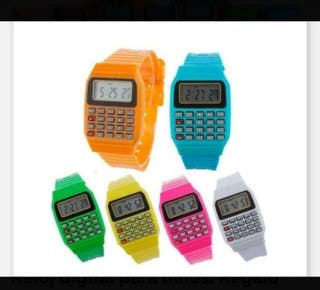 Reloj digital. Regalo infantil