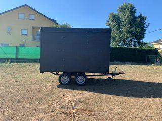 Escenario movil remolque 750kg