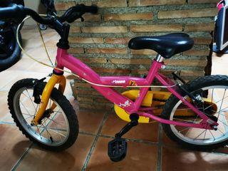 bici niña pequeña