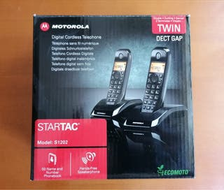 Teléfono inalámbrico dúo Motorola precintado!