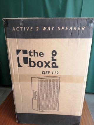 PAREJA ALTAVOCES AMPLIFICADOS THE BOX PRO DSP 112