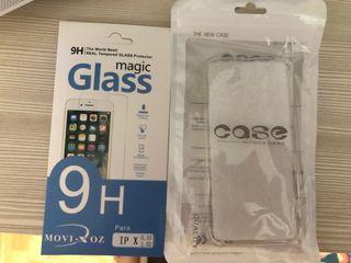 Funda y protector nuevo iPhone XS