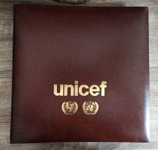 Colección sellos Naciones Unidas Banderas Unicef