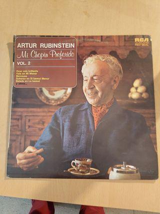 artur rubinstein mi chopin preferido vol.2
