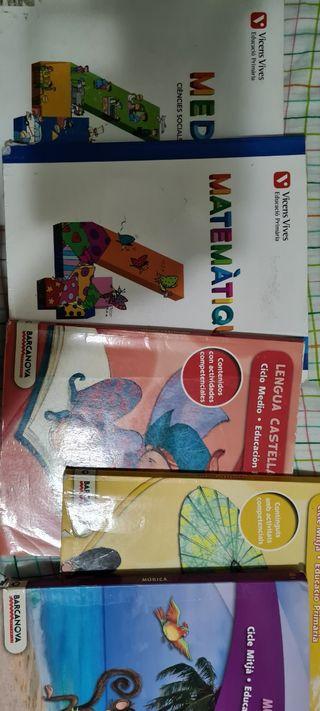 Libros del 4to de primaria.