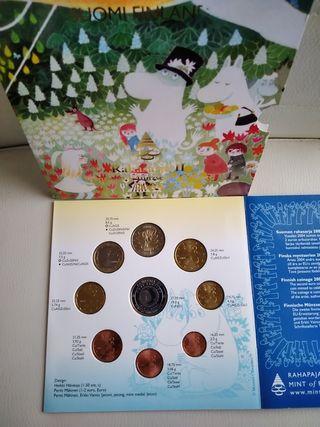 cartera Finlandia 2004 con medalla de plata