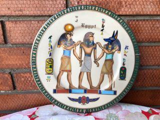 Plato de cerámica Egipto