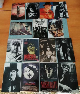 Postales de cine de terror