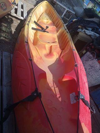 kayak piragua doble 2+1