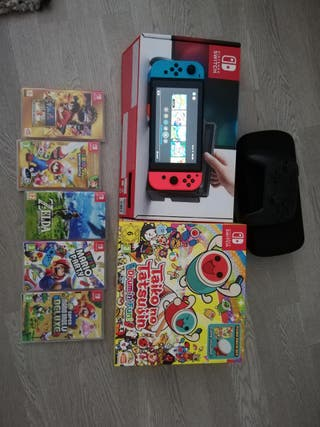 Nintendo switch con extras