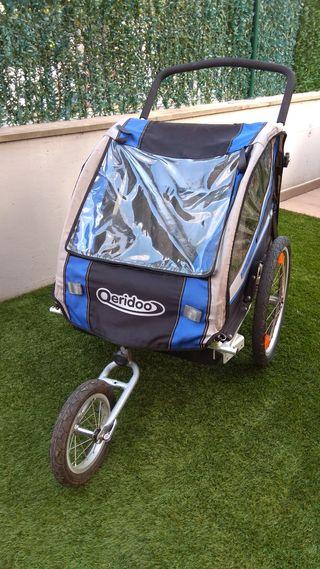 Remolque bici Qeridoo Sportrex