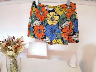 falda pantalón de Zara