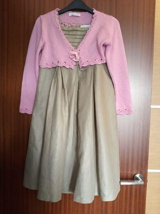 vestido+ 2 chaquetas