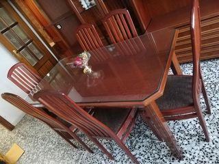 Venta la mesa de comedor 6 sillas