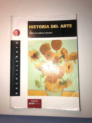 "Libro ""Historia del Arte"" de 2º bach."