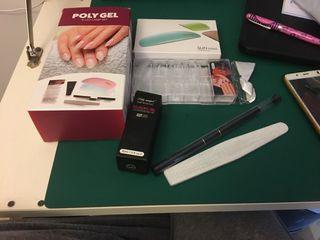 Kit poly gel uñas