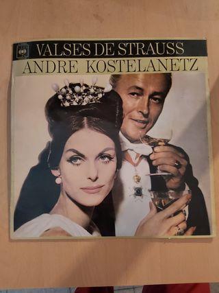 valses de Strauss Andrea kostelanetz vinilo