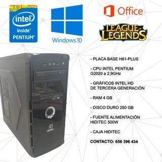 CHOLLO PC ORDENADOR BASICO BARATO