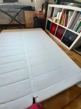 colchón plegable Nyhamn de sofá cama ikea