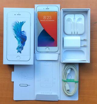 iPhone 6s 64GB libre de iCloud y 100% de batería