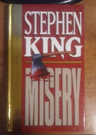Stephen King-Misery-libro tapa dura