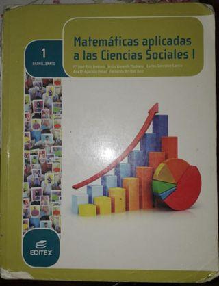 libro de matemáticas aplicadas 1°de bachillerato