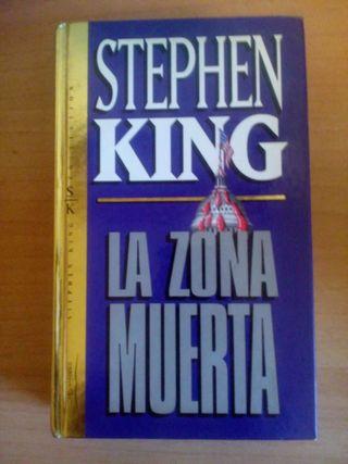 La zona muerta-stephen King.Libro tapa dura
