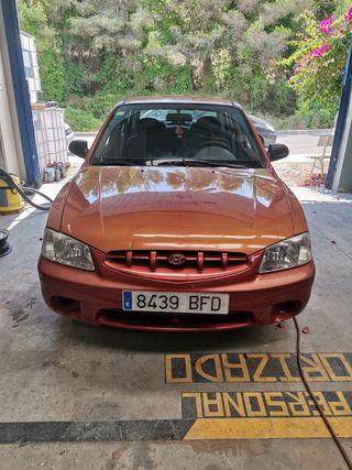 Hyundai Accent 2002 GASOLINA ENTRA BCN