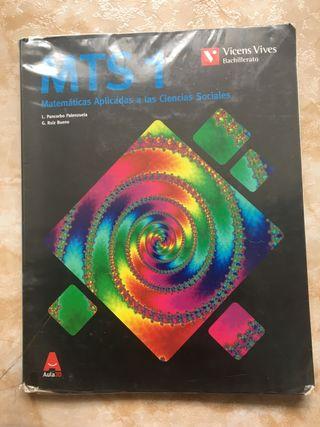 Libro matemáticas aplicadas 1°bach