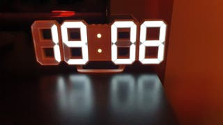 Reloj digital pared o mueble