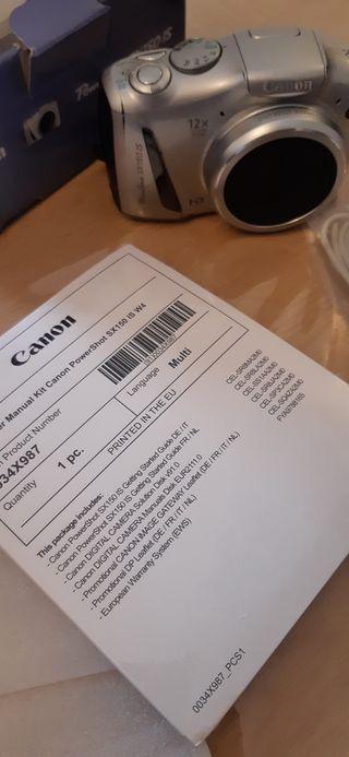 Cámara Digital - CANON - Caja