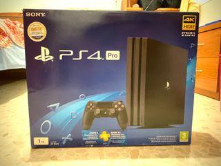PlayStation 4 Pro 1 Tb con dos mandos y juegos