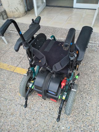silla ruedas eléctrica invacare