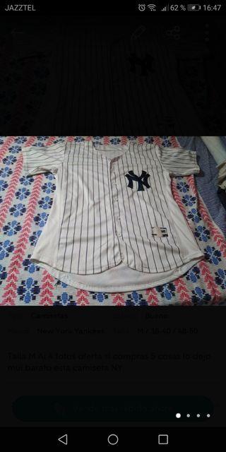 camiseta manga corta NY talla M