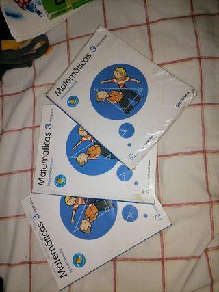 libros de matemáticas 3 primaria