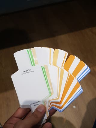 geles de correccion de color para flash de mano