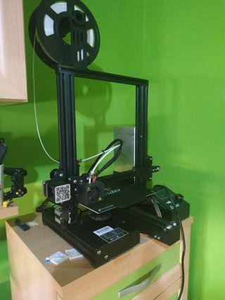 Ender 3 Pro Impresora 3D + 2 filamentos