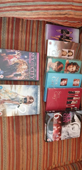 Sex and the City dvd's