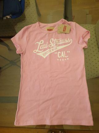 camiseta de niña de levis.