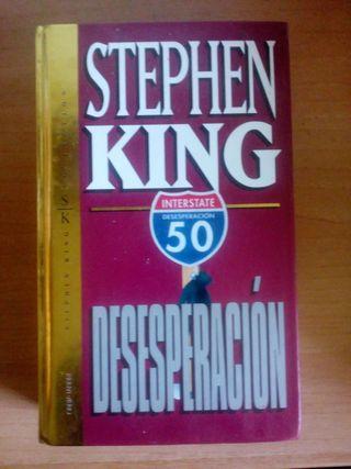 Desesperación-Stephen King-Libro tapa dura