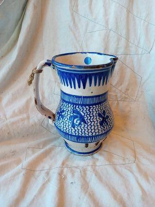 Jarra de ceramica de Manises S.XIX