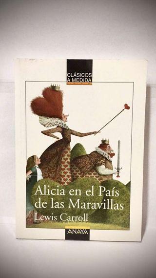 Libro de Alicia el País de las Maravillas