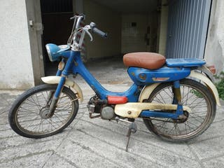 Vespino GL y Honda serveta